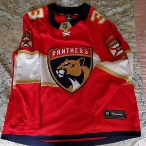 NHL Panthers Keith Yandle Red Jersey